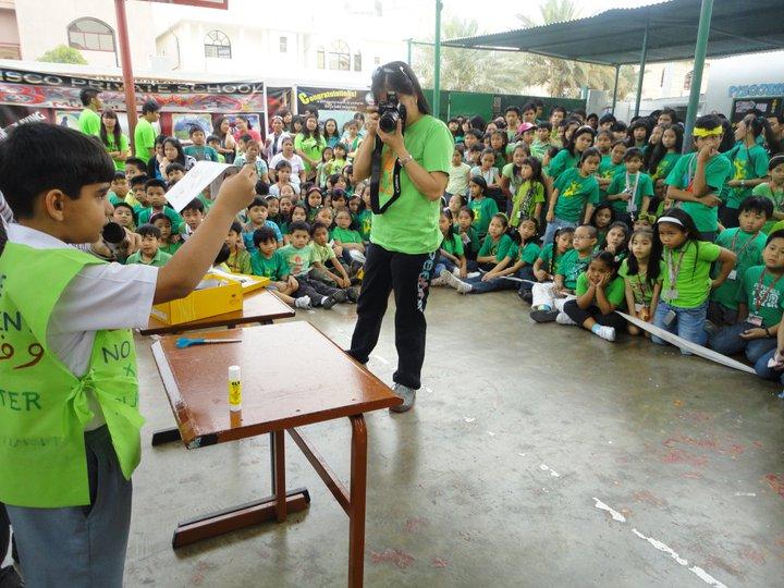 DEMO AT PHILIPINO SCHOOL ABU DHABI
