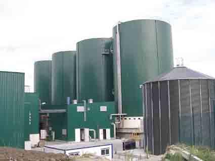 Modern-Biogas-Plant