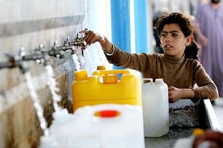 a report on the health issues in gaza water problem -- for the first time in gaza, the ministry of health, in collaboration with partners and with technical support from who, established trauma stabilization points (tsps) throughout the critical zones of gaza in order to respond to the mass influx of casualties.