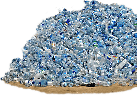 menace of plastic water bottles