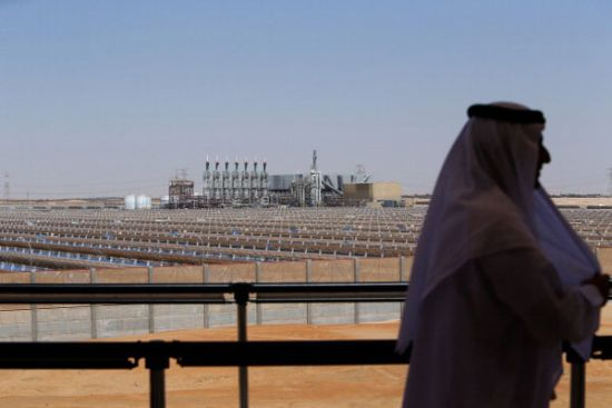 Shams-solar-plant