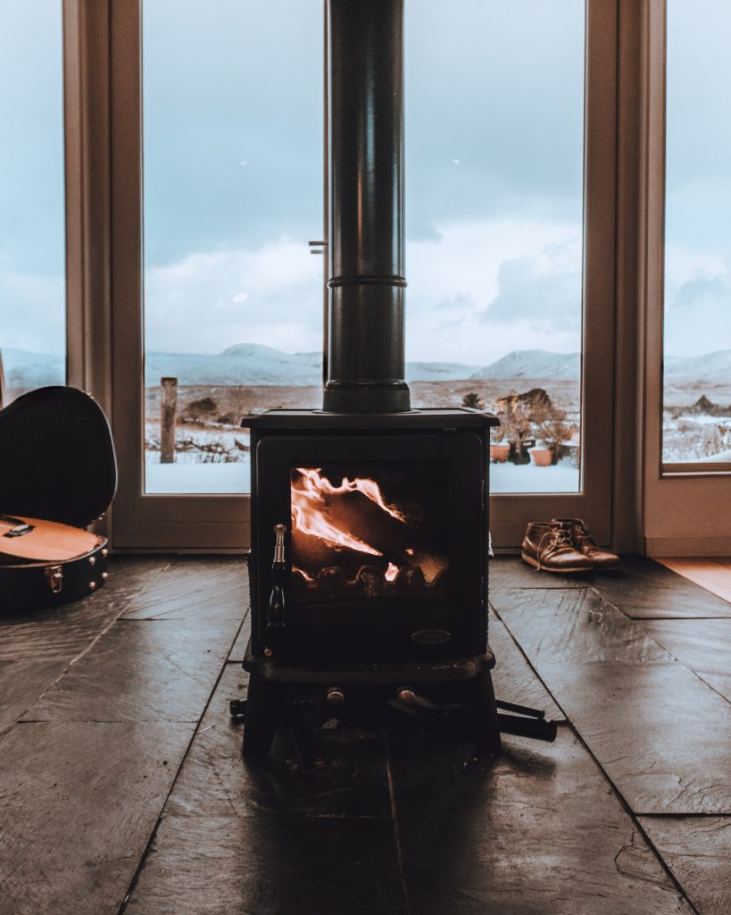 warm home in winter