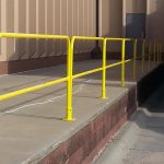 Removable Rooftop Safety Railings For OSHA Compliance