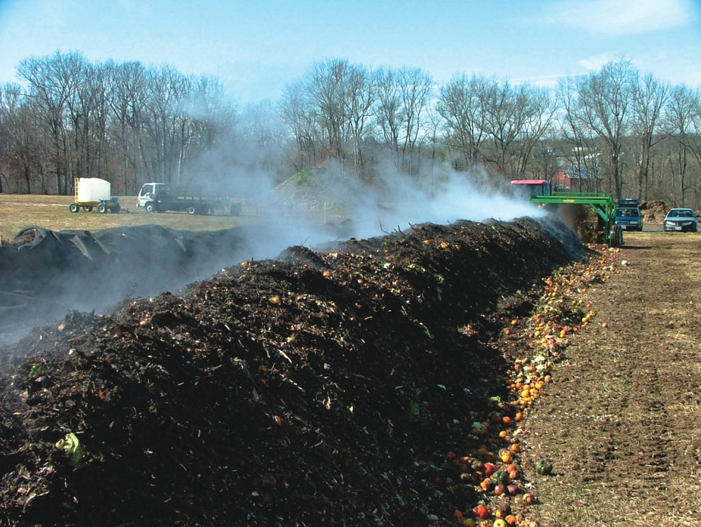 what is thermophilic composting