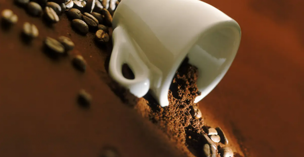 recycling of used coffee grounds